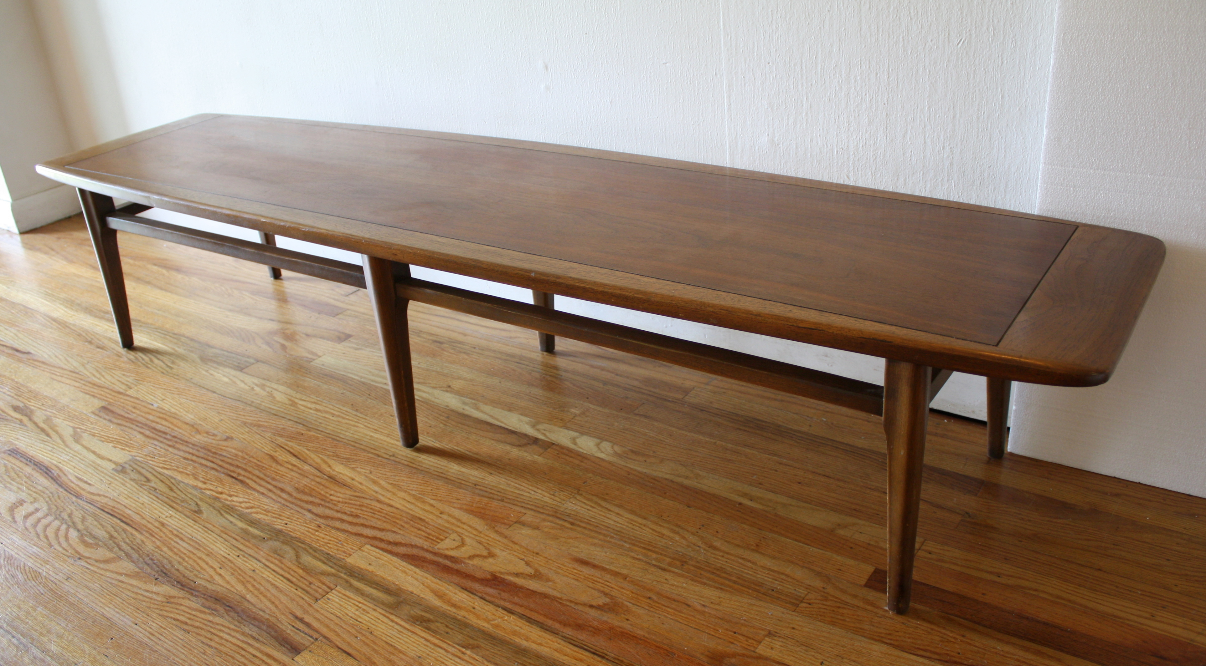 Mid Century Modern Surfboard Coffee Table by Lane