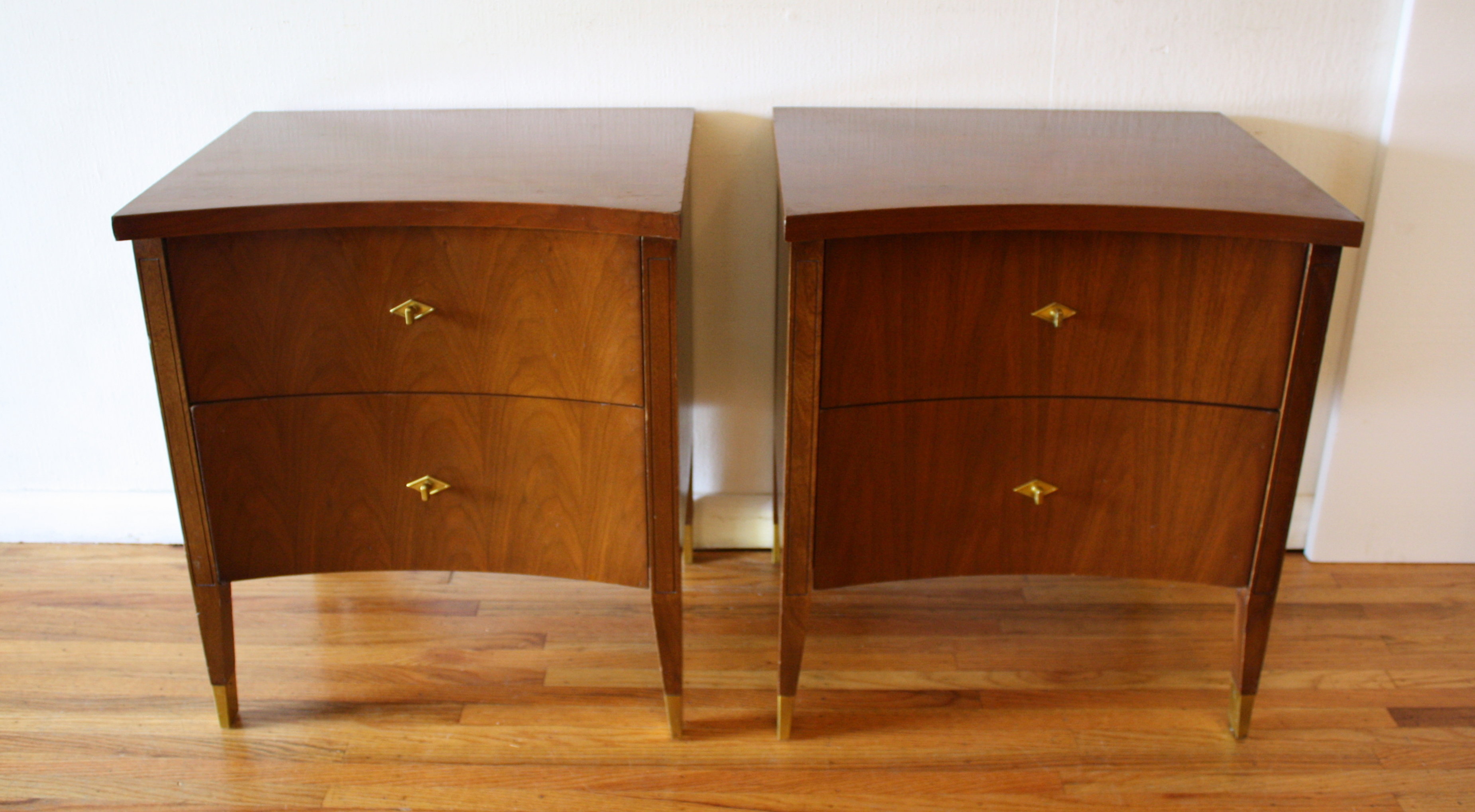 mcm pair of concave nightstands 1