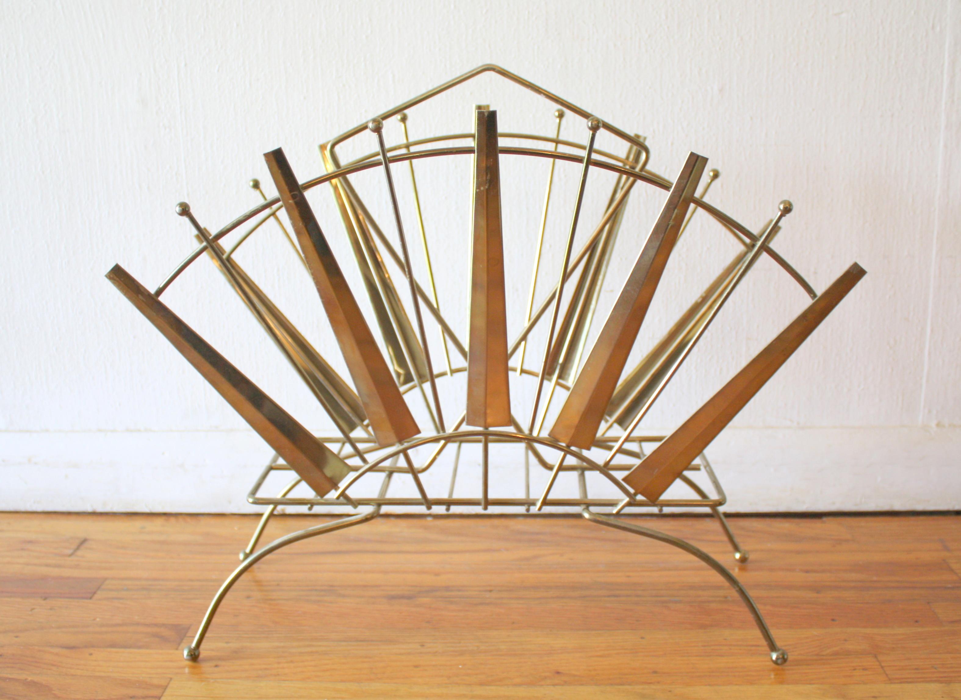 art deco magazine rack 1