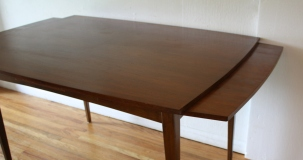 Danish refractory dining table 5