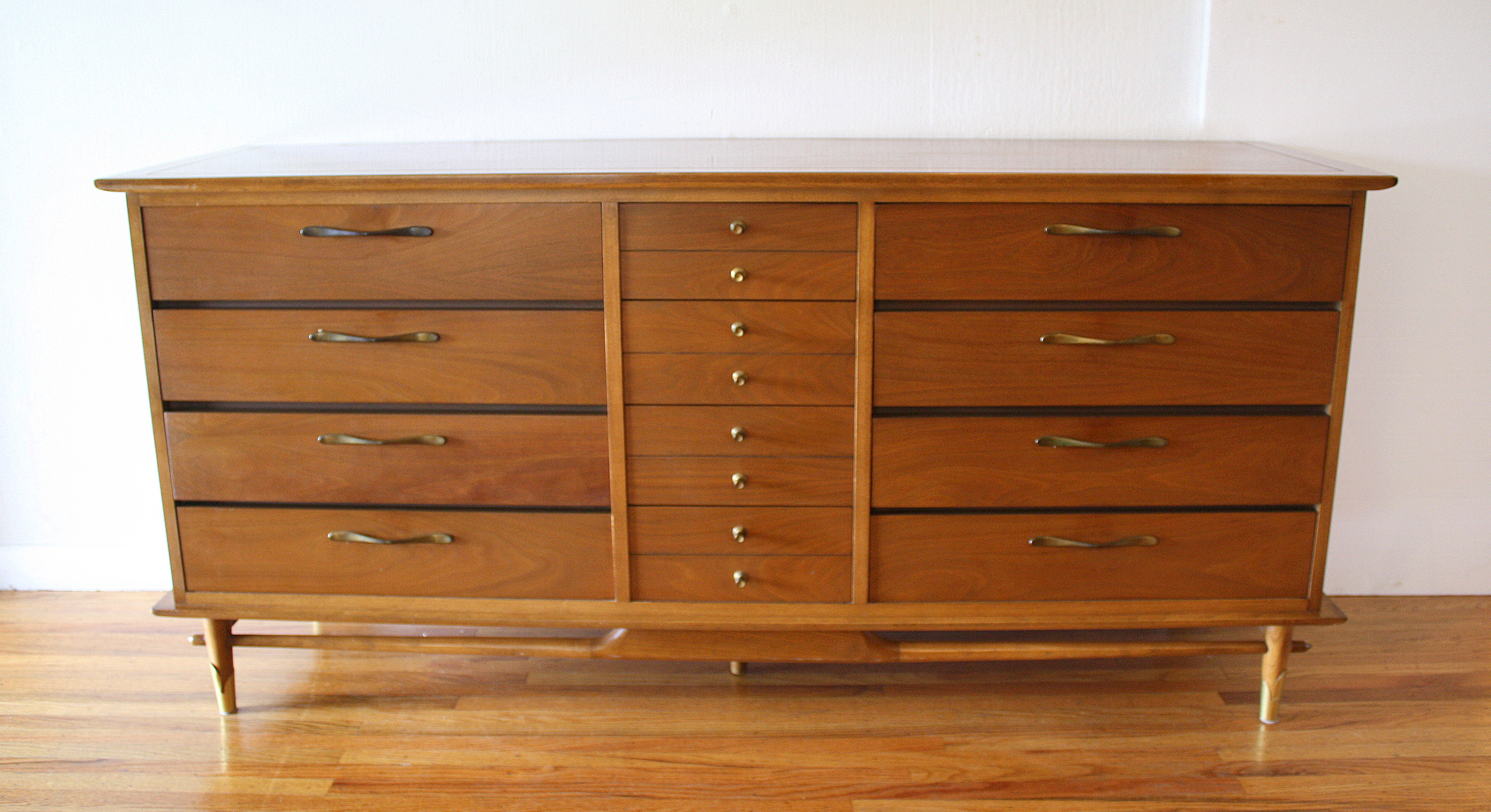Mid Century Modern Tall And Low Dresser From The Lane
