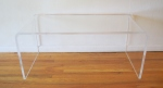 lucite coffee table 1