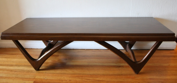 mcm double arched base coffee table 4.JPG