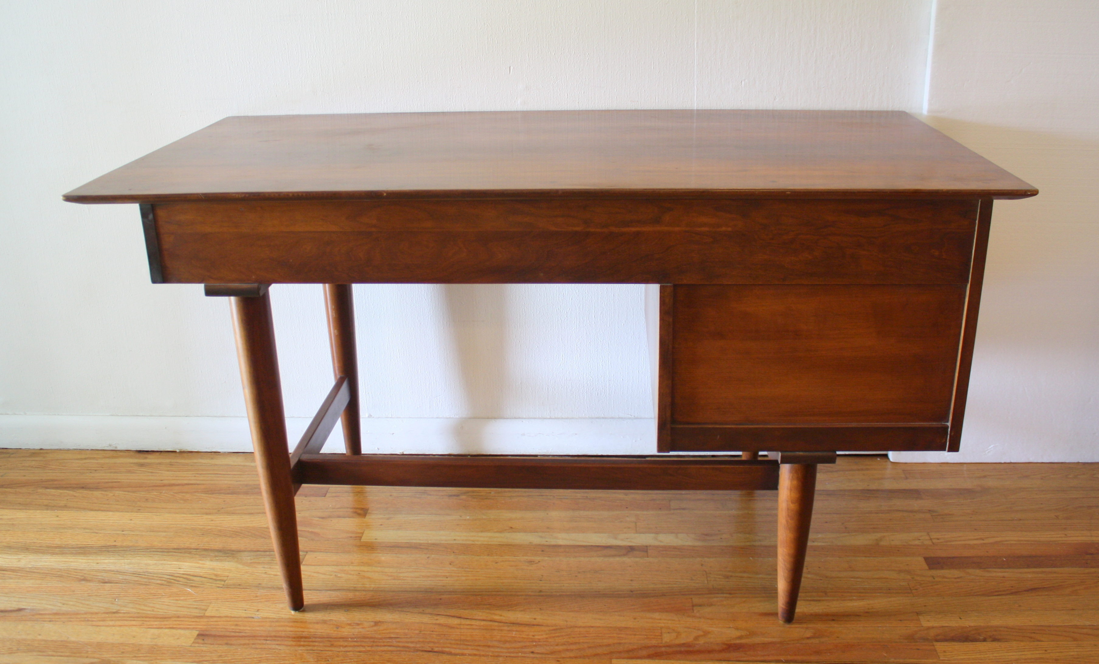 Lucite Desk With Drawers