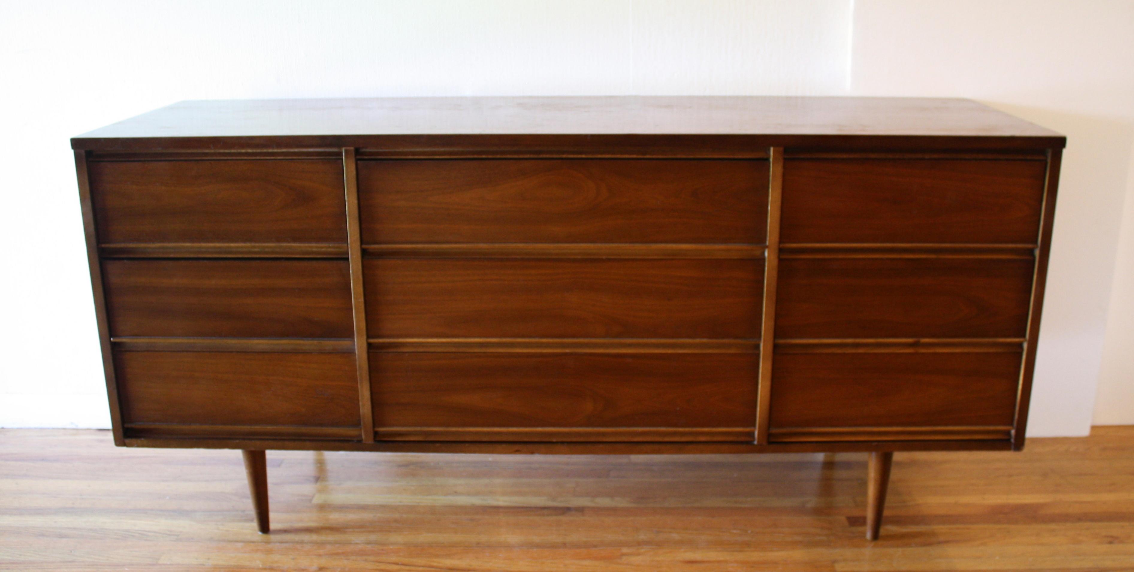 Dixie 9 drawer low dresser credenza 1