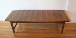 Lane coffee table inlaid wood 3