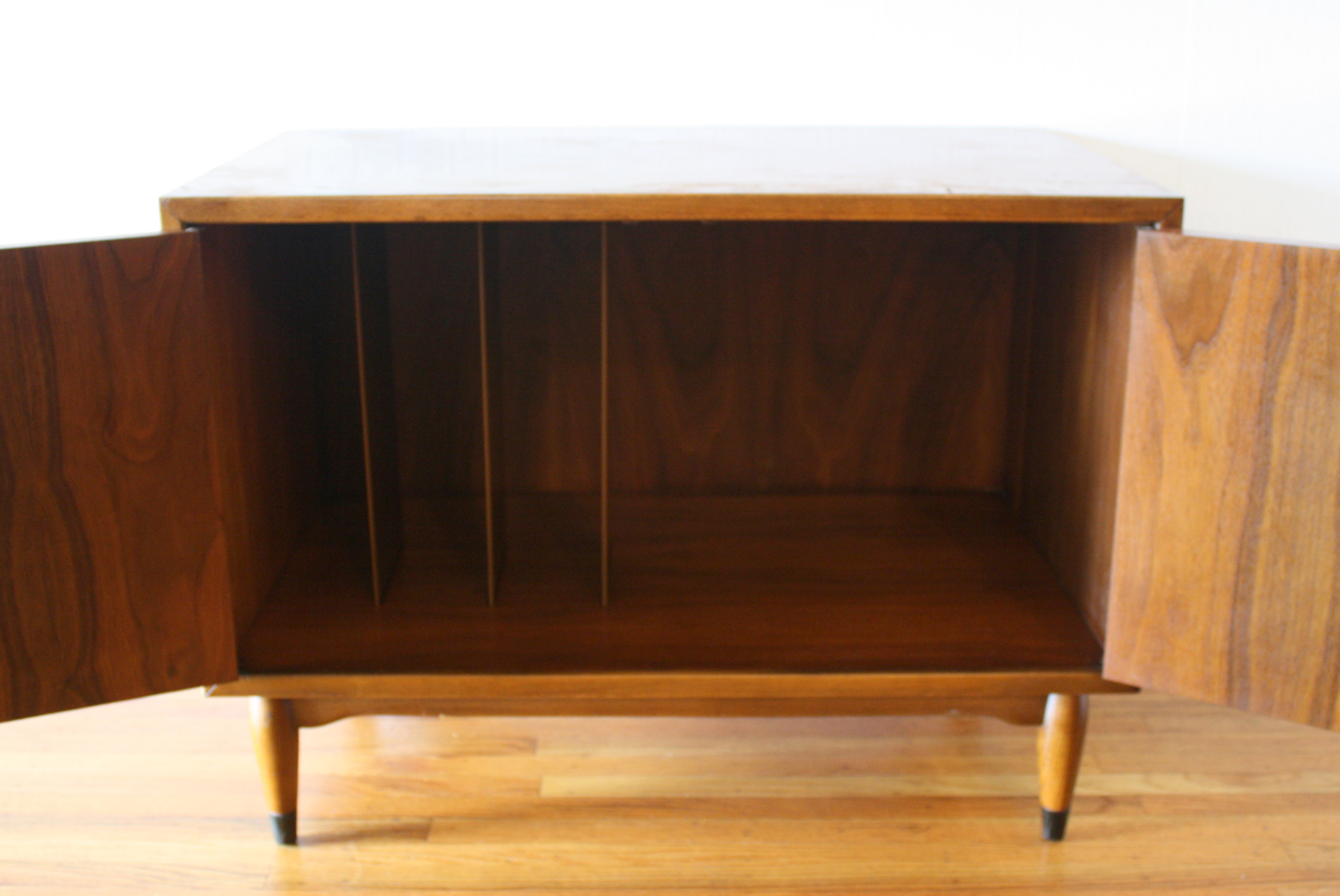 Mid Century Modern Record Cabinets by Lane | Picked Vintage