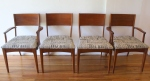 mcm dining set of 4 chairs city print 1