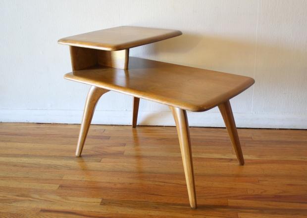Heywood Wakefield  2 tiered table 2.JPG