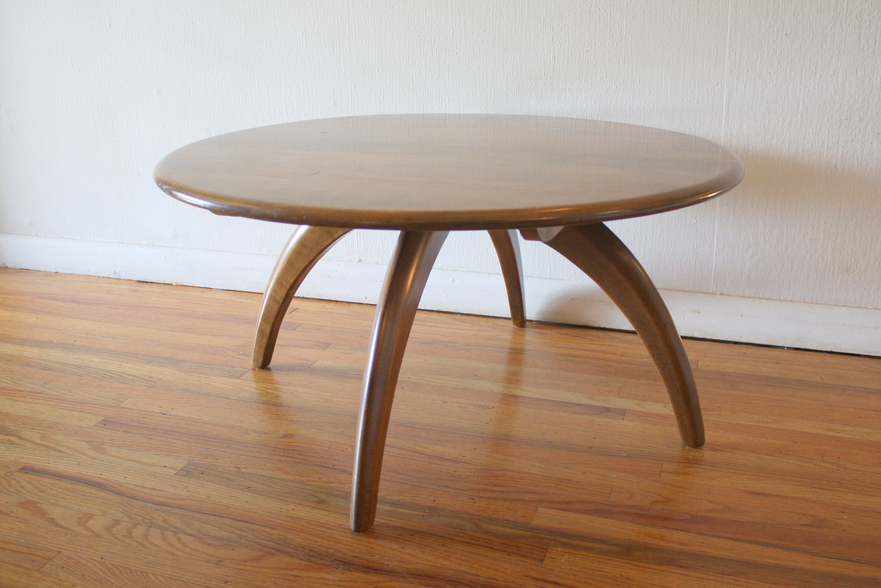 Mid Century Modern Side End Table by Heywood Wakefield Picked Vintage