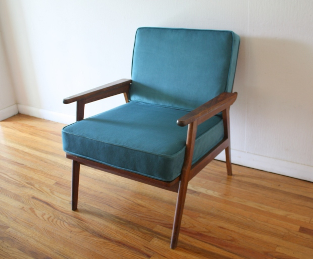 mcm-arm-chair-with-teal-velvet-1
