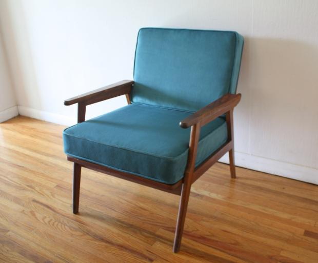 mcm-arm-chair-with-teal-velvet-1