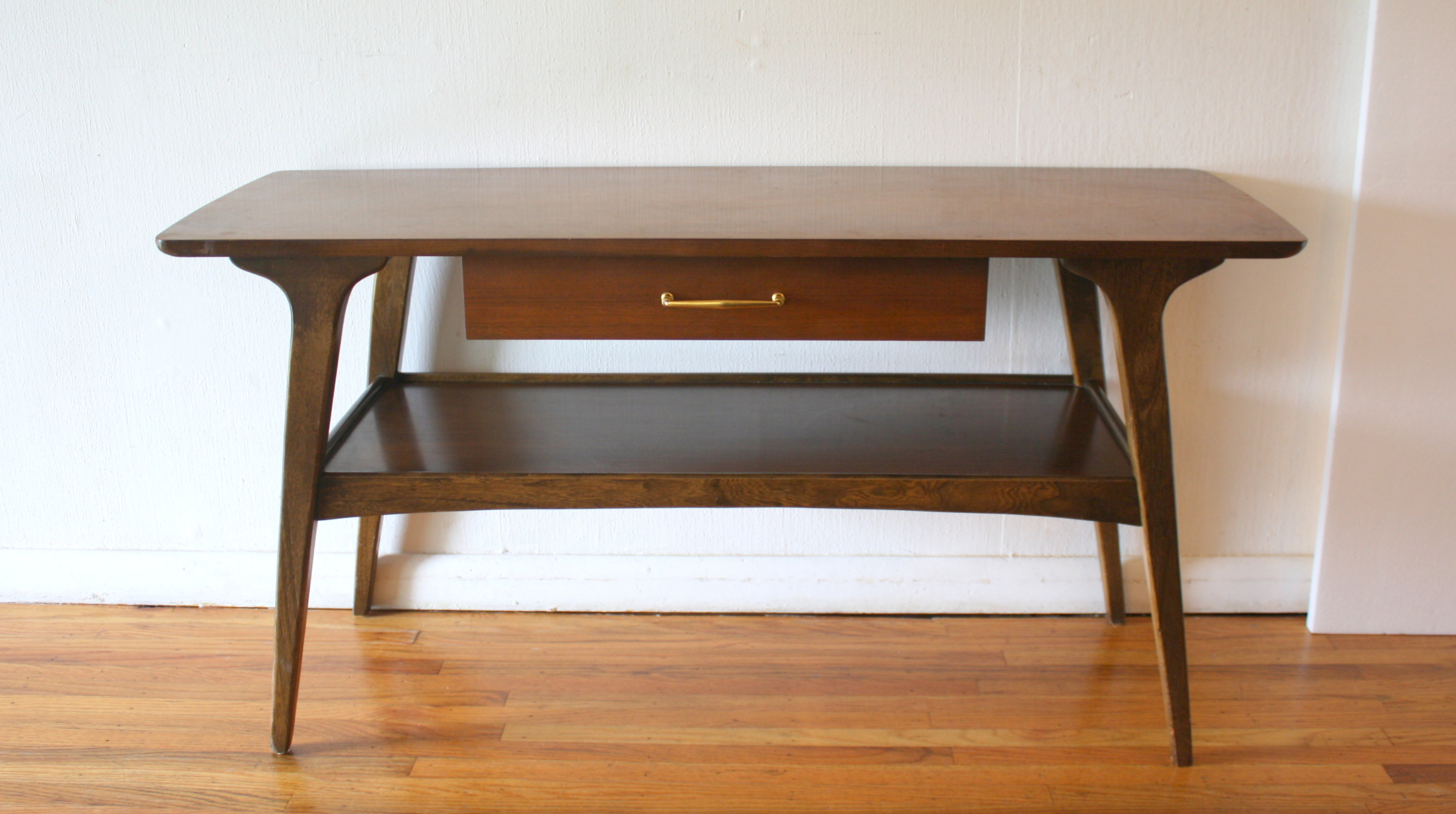 Mid Century Modern Console Table Picked Vintage