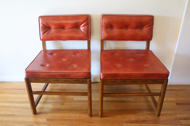 mcm pair of poppy red chairs 1.JPG