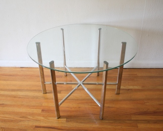 mid-century-modern-chrome-and-glass-coffee-table-1