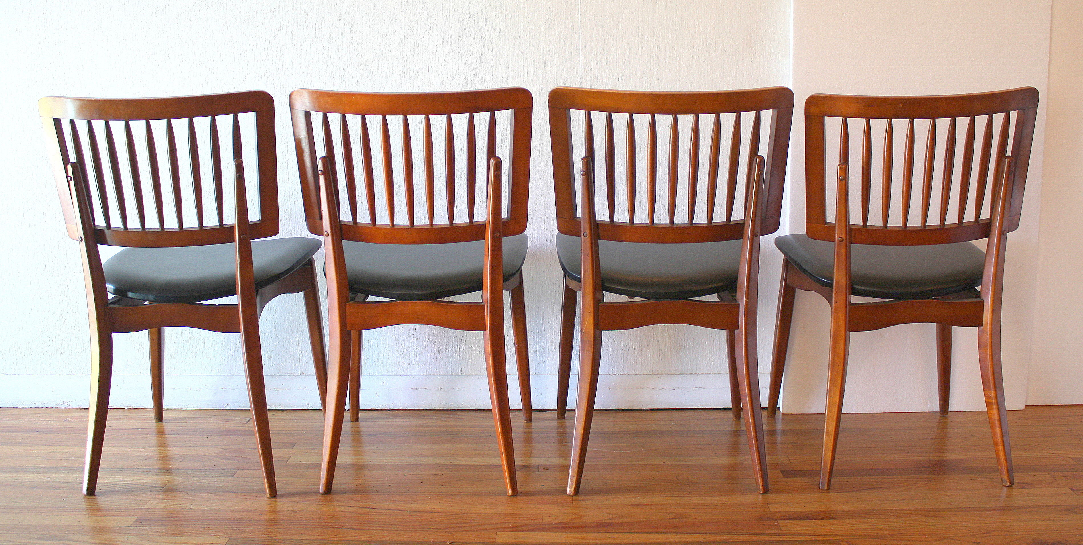 Mid Century Modern Dining Chair Set by Stakmore