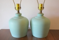 pair-of-turquoise-pottery-lamps-1