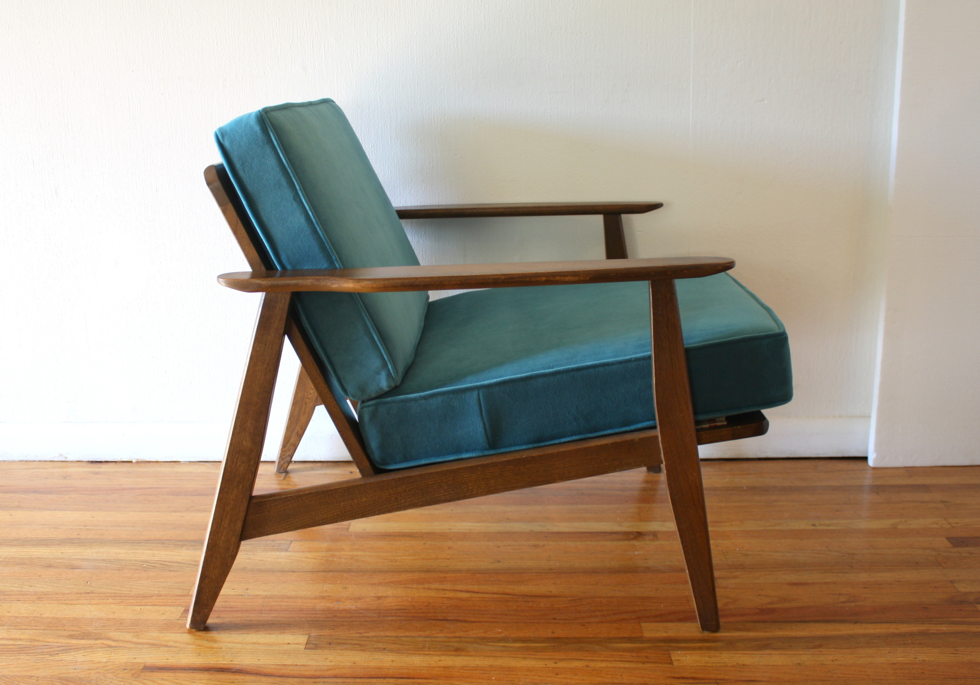 Mid century modern arm lounge chairs picked vintage