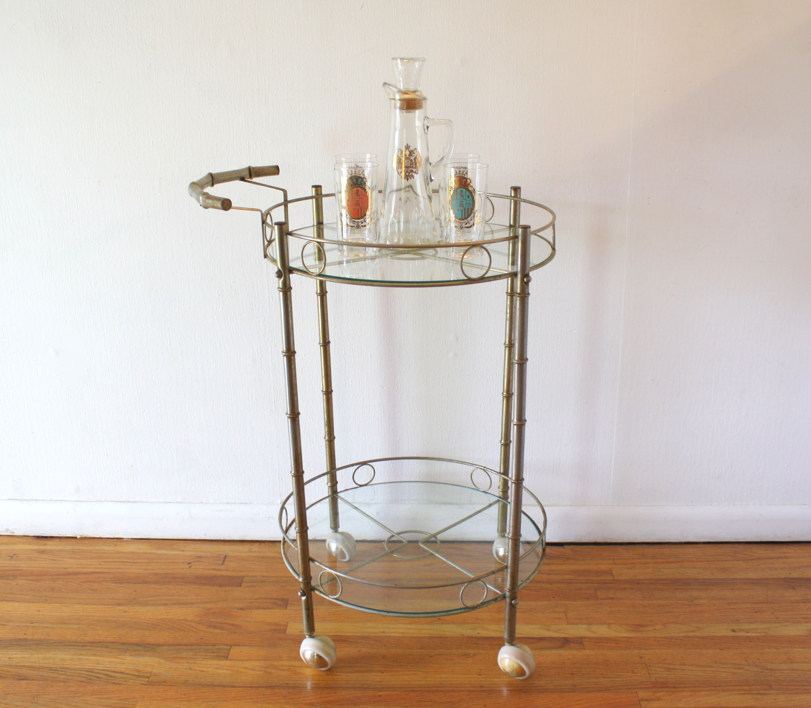 mcm-faux-bamboo-brass-and-glass-serving-cart-2