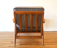 elephant gray velvet chair 4