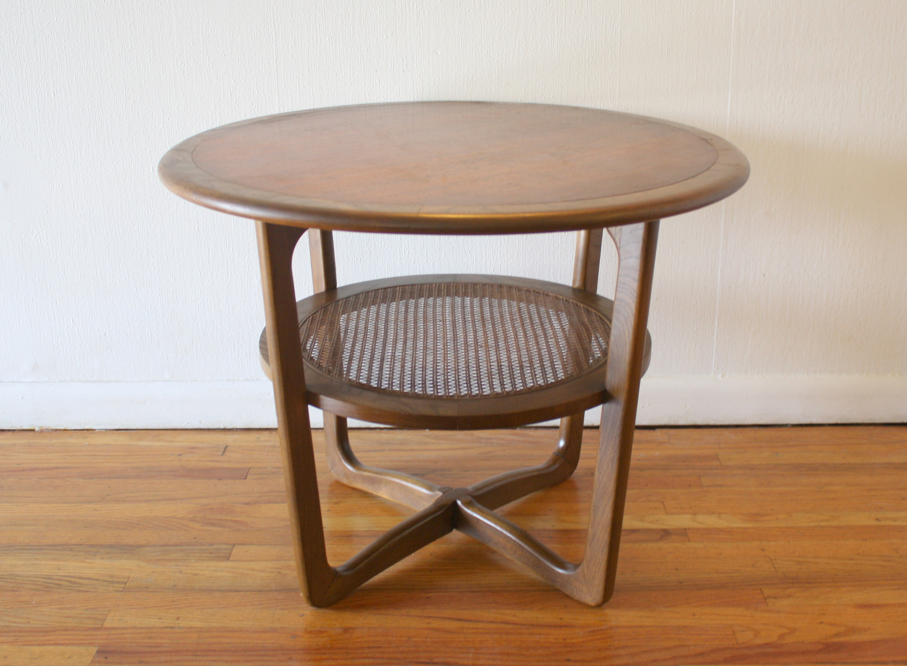 Lane round side end table with rattan shelf 4.JPG