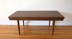 mcm 36 slatted bench table 1