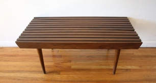 mcm 36 slatted bench table 2