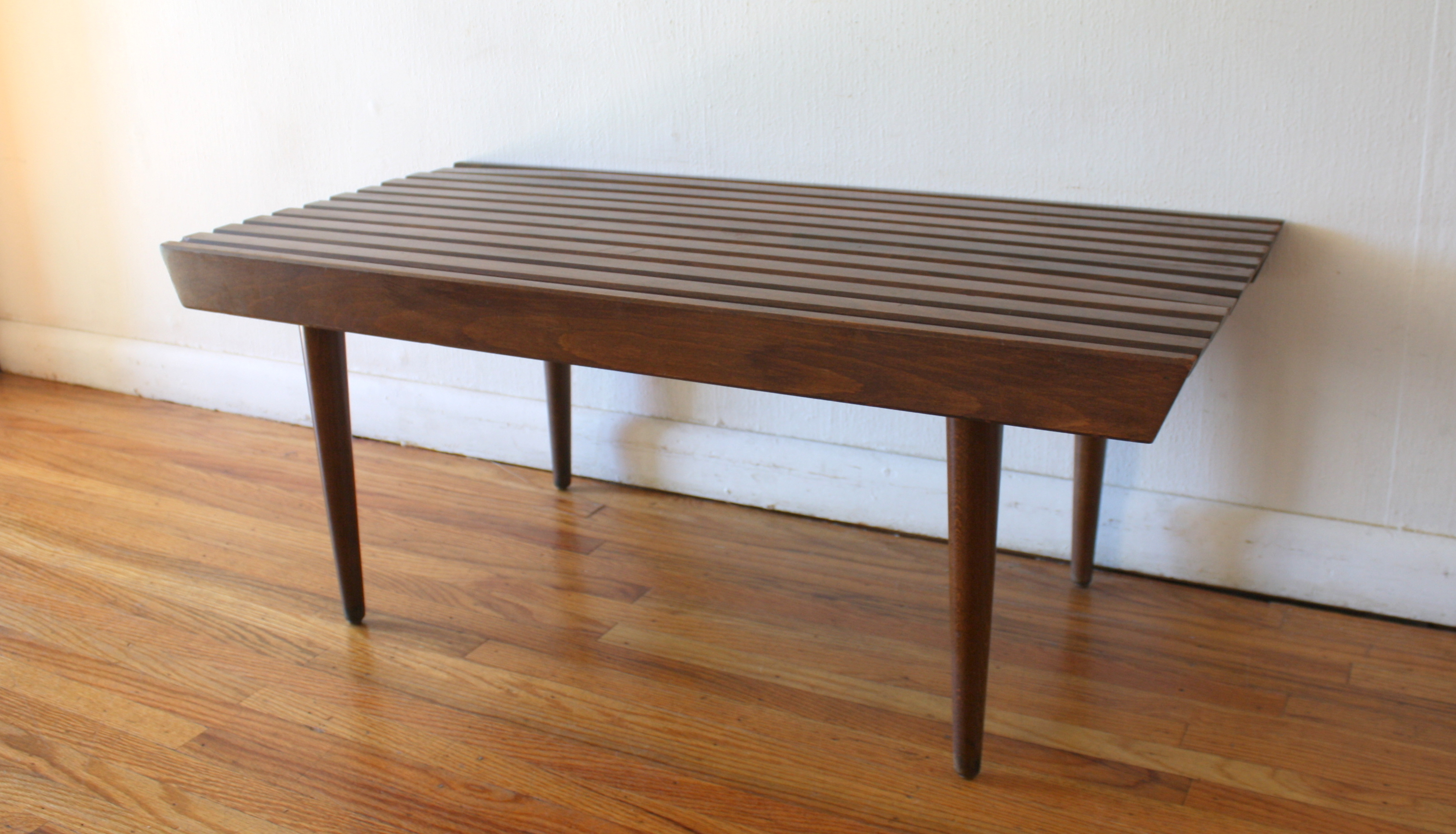 mcm 36 slatted bench table 3