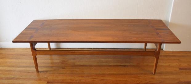 mcm coffee table parquet top 2