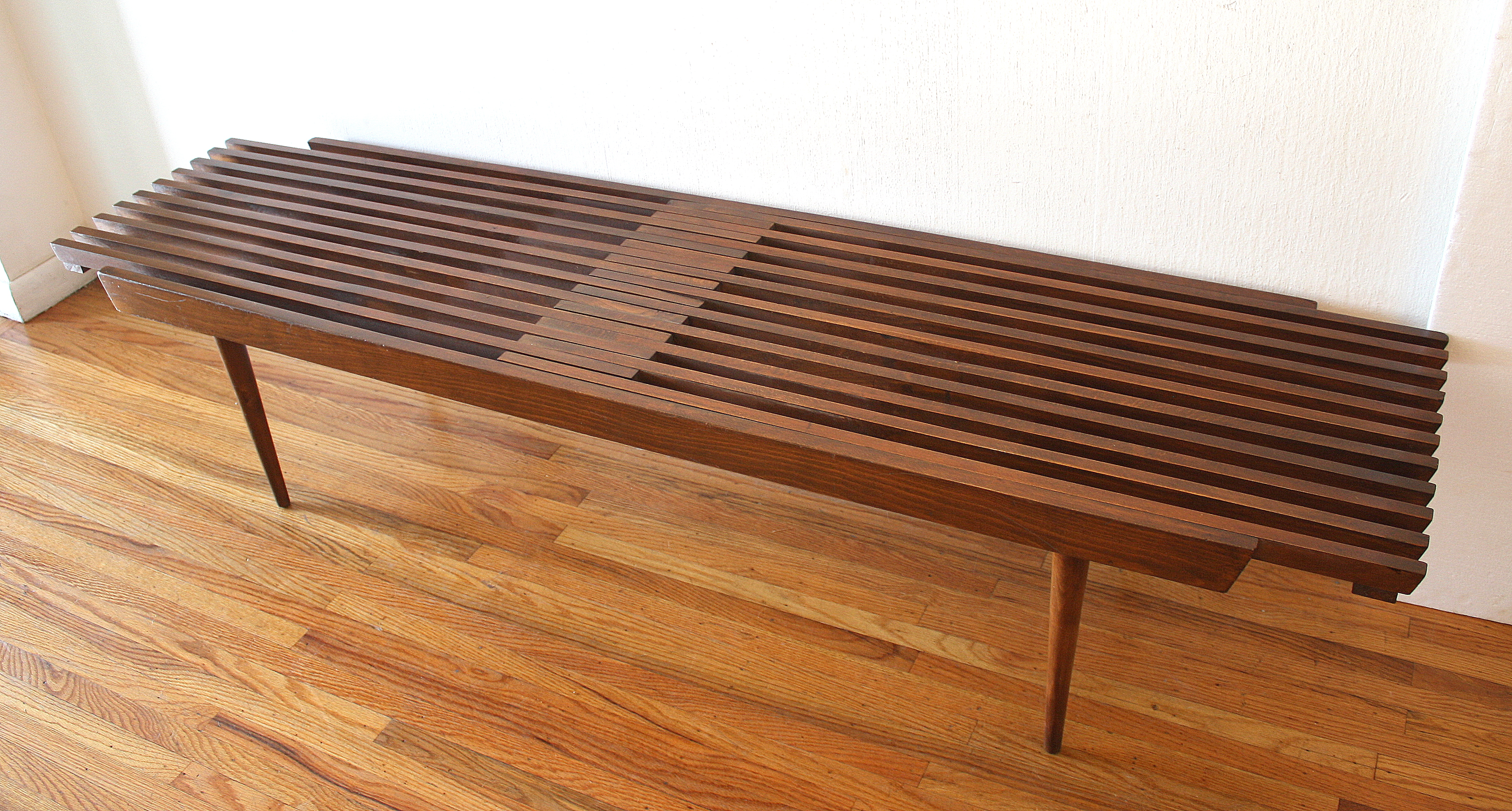 mcm expanding slatted bench coffee table 1