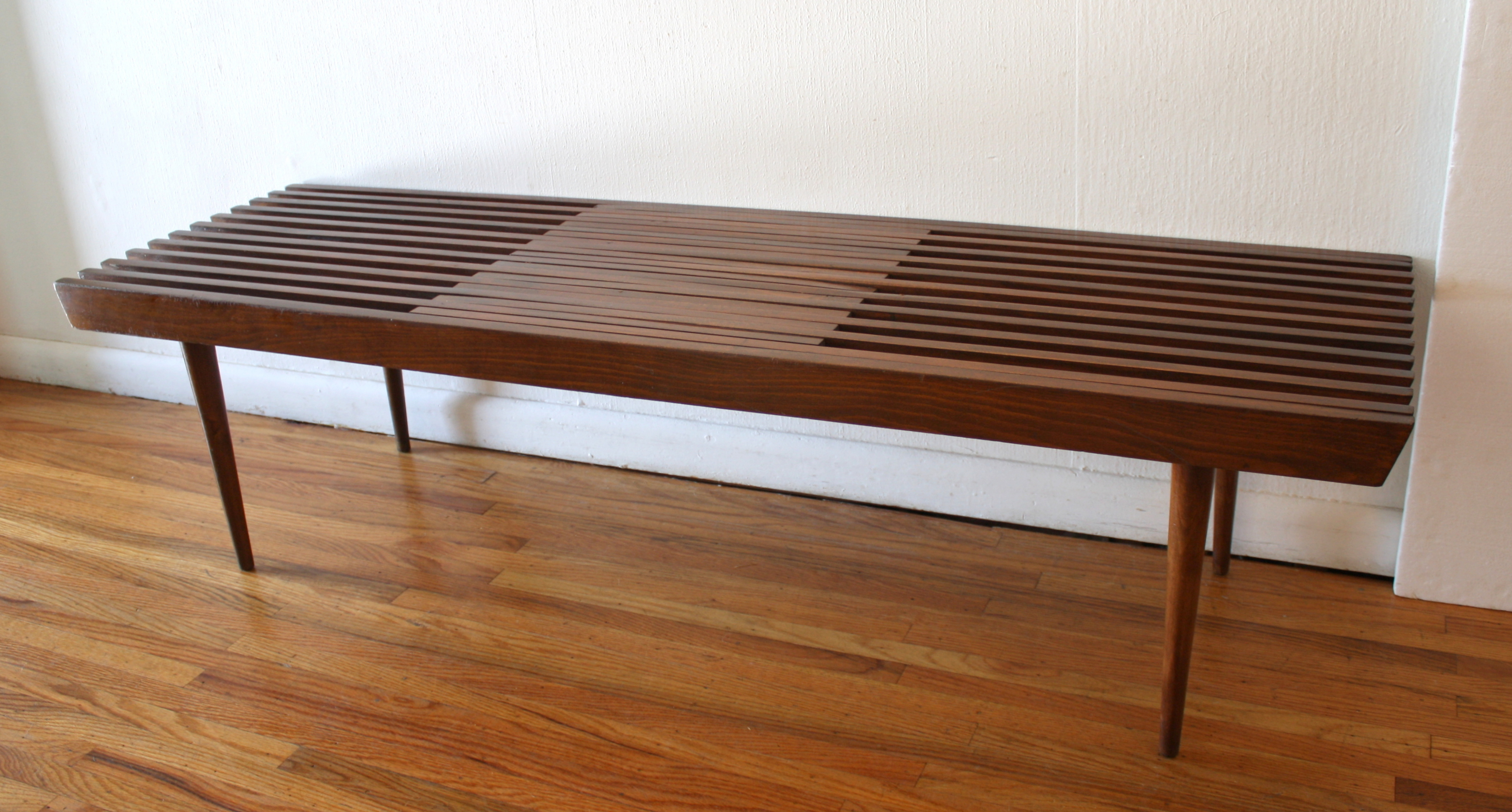 mcm expanding slatted bench coffee table 4