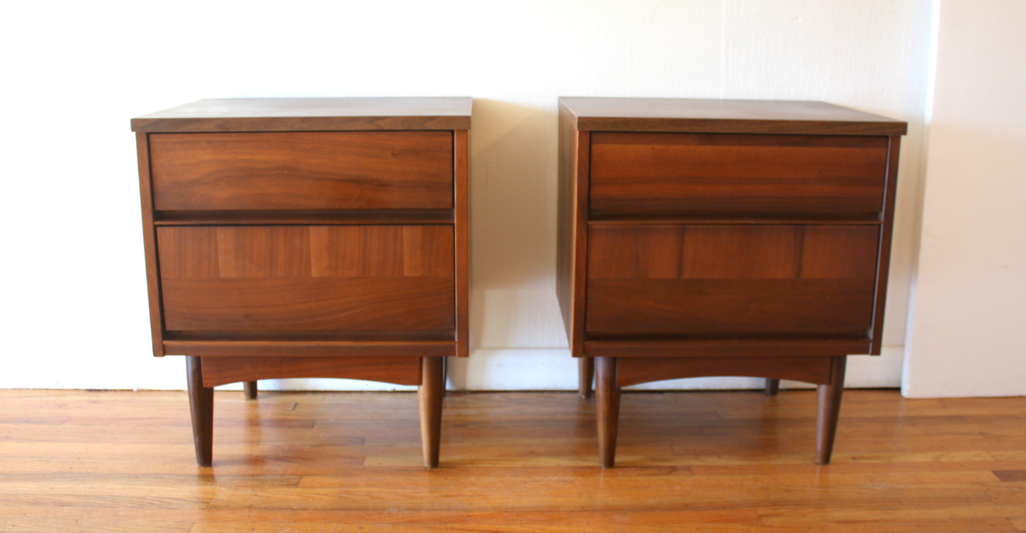 pair of mcm nightstands with dual drawers 1.JPG