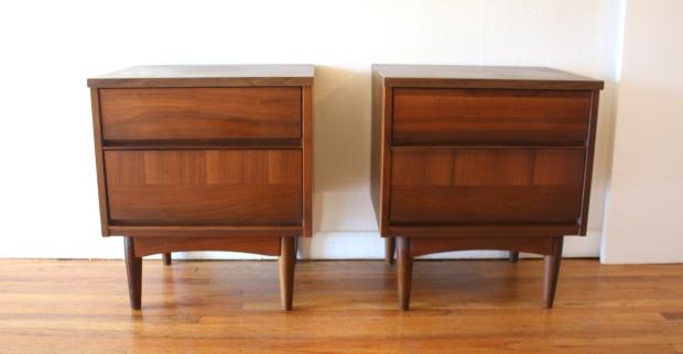 pair of mcm nightstands with dual drawers 1.JPG