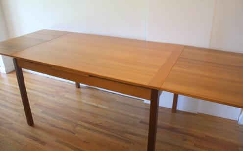 Danish Mobler teak dining table 2