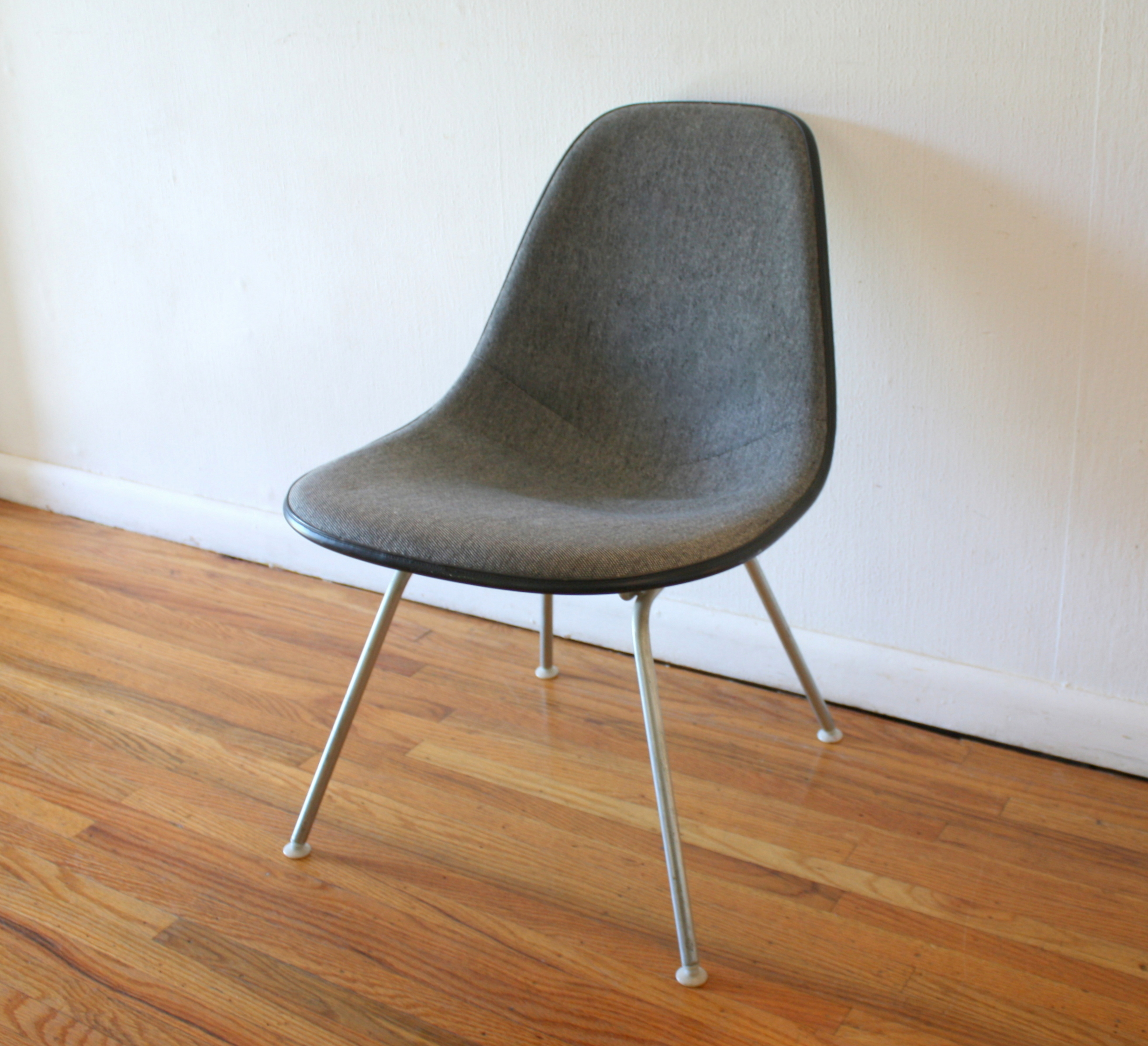 Herman Miller gray chair 1