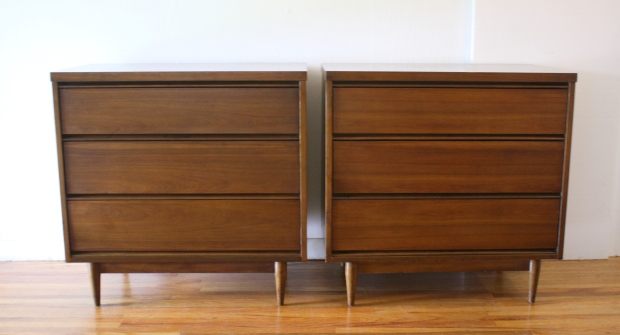 mcm pair of bachelor chest dressers streamlined design 1.JPG