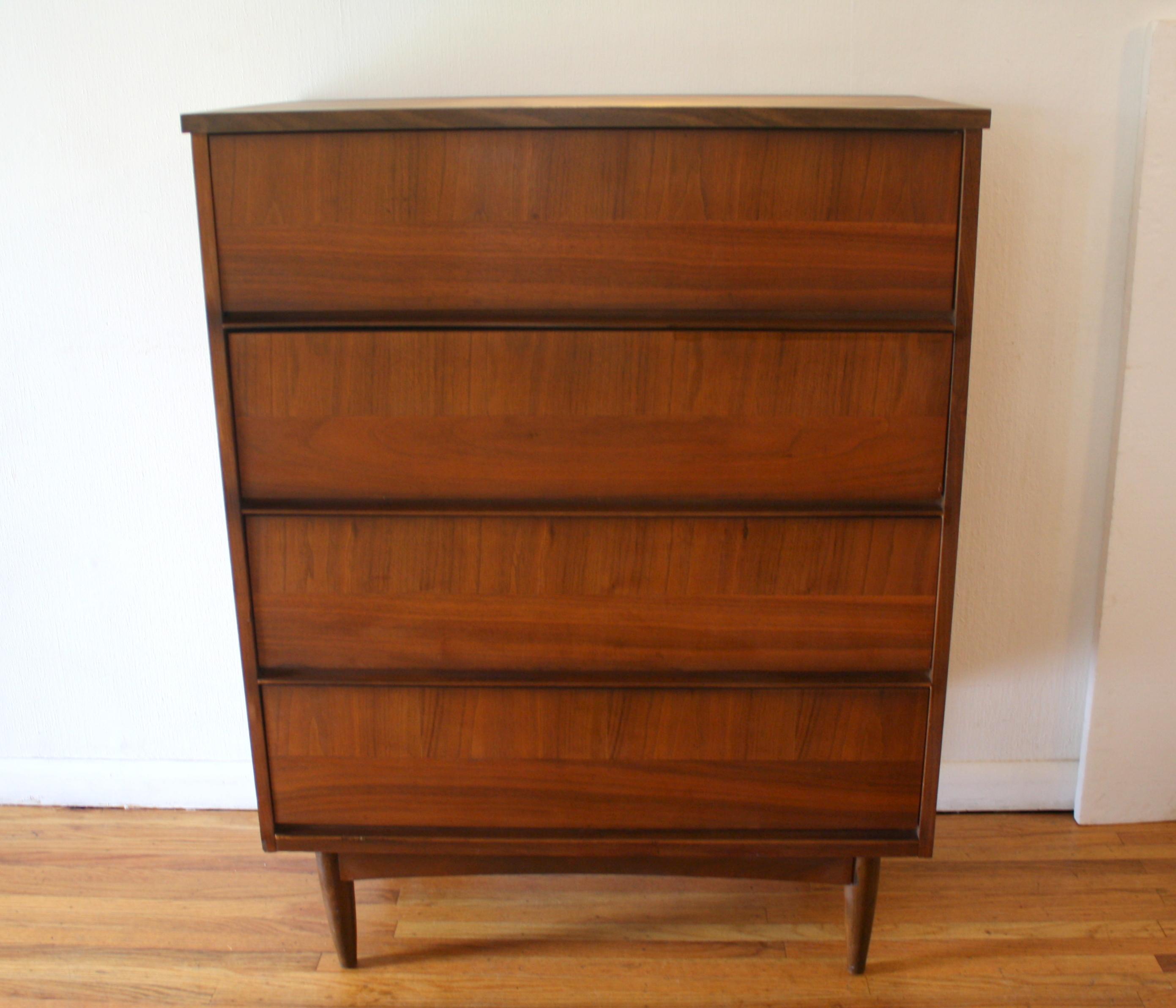 mcm parquet design tall dresser 1