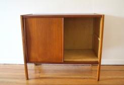 mcm teak sliding door cabinet 4