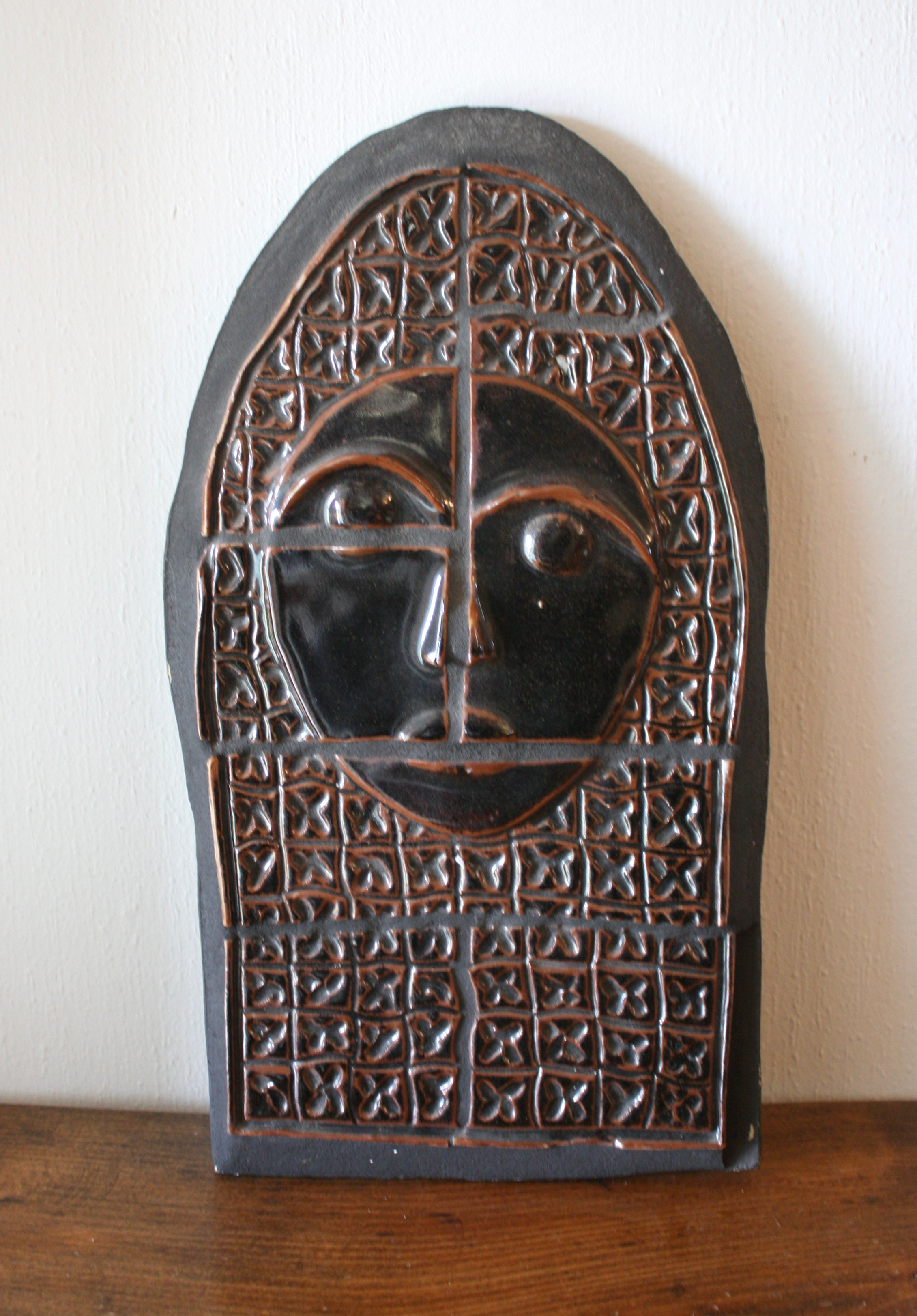 mcm tile face sculpture 1.JPG