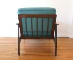 teal velvet arm chair 3