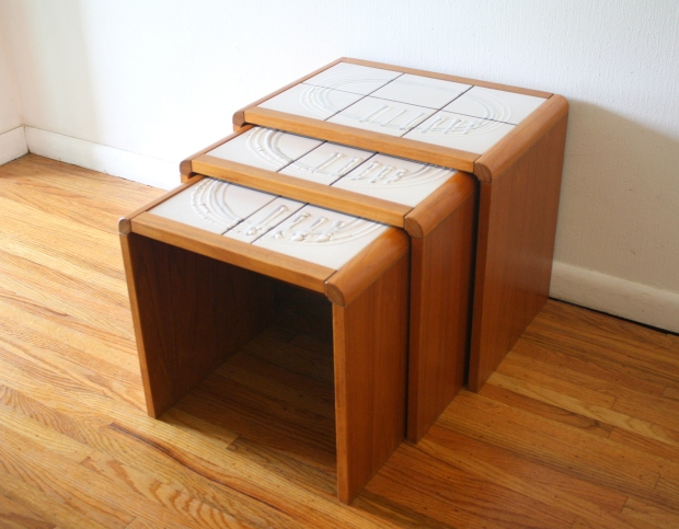 abstract tile nesting tables 3