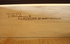 American by Martinsville 2 tiered table 4