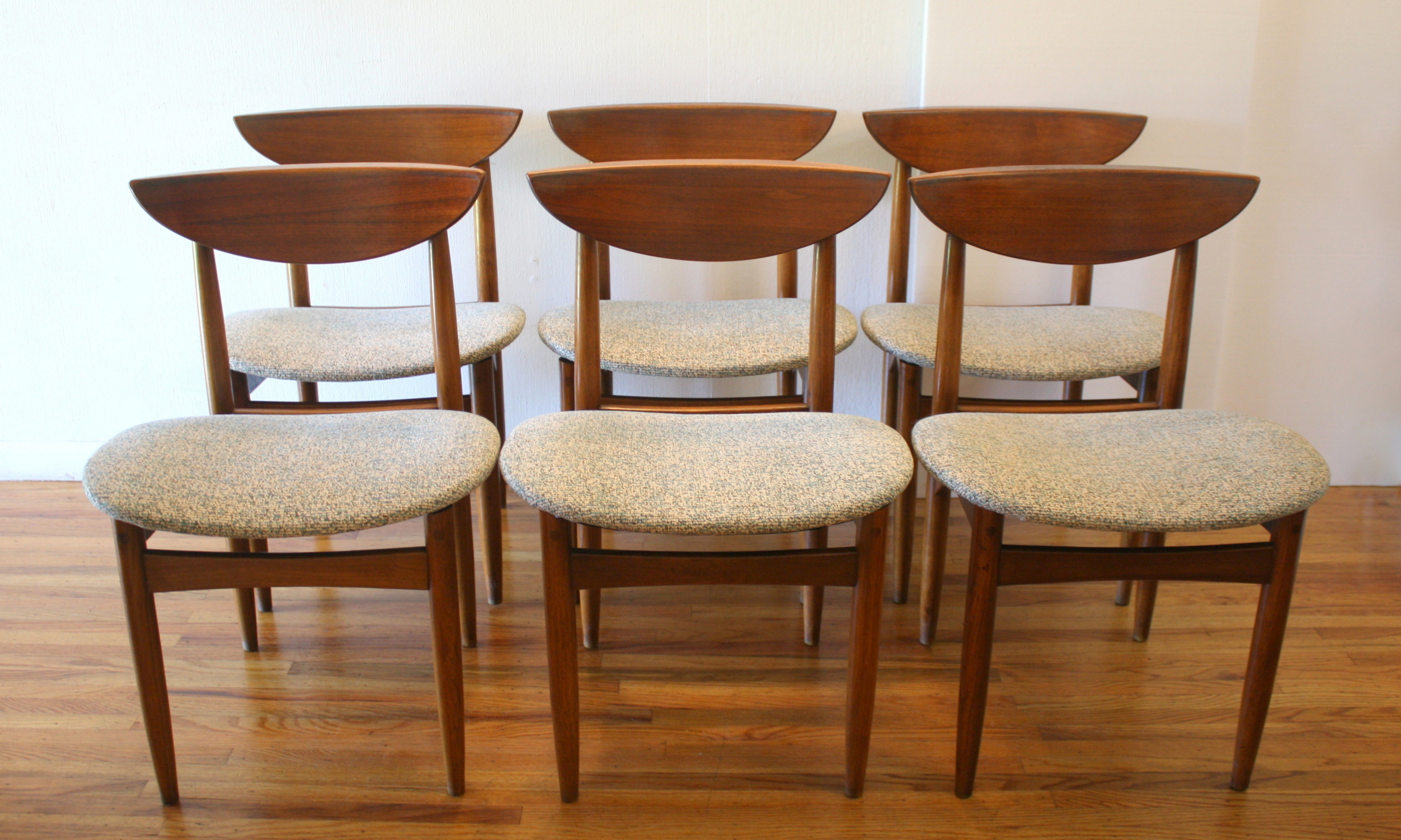 Mid Century Modern Dining Chair Set by Lane