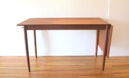 teak extension desk 3