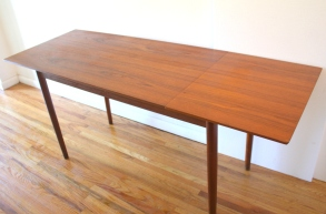 teak extension desk 5