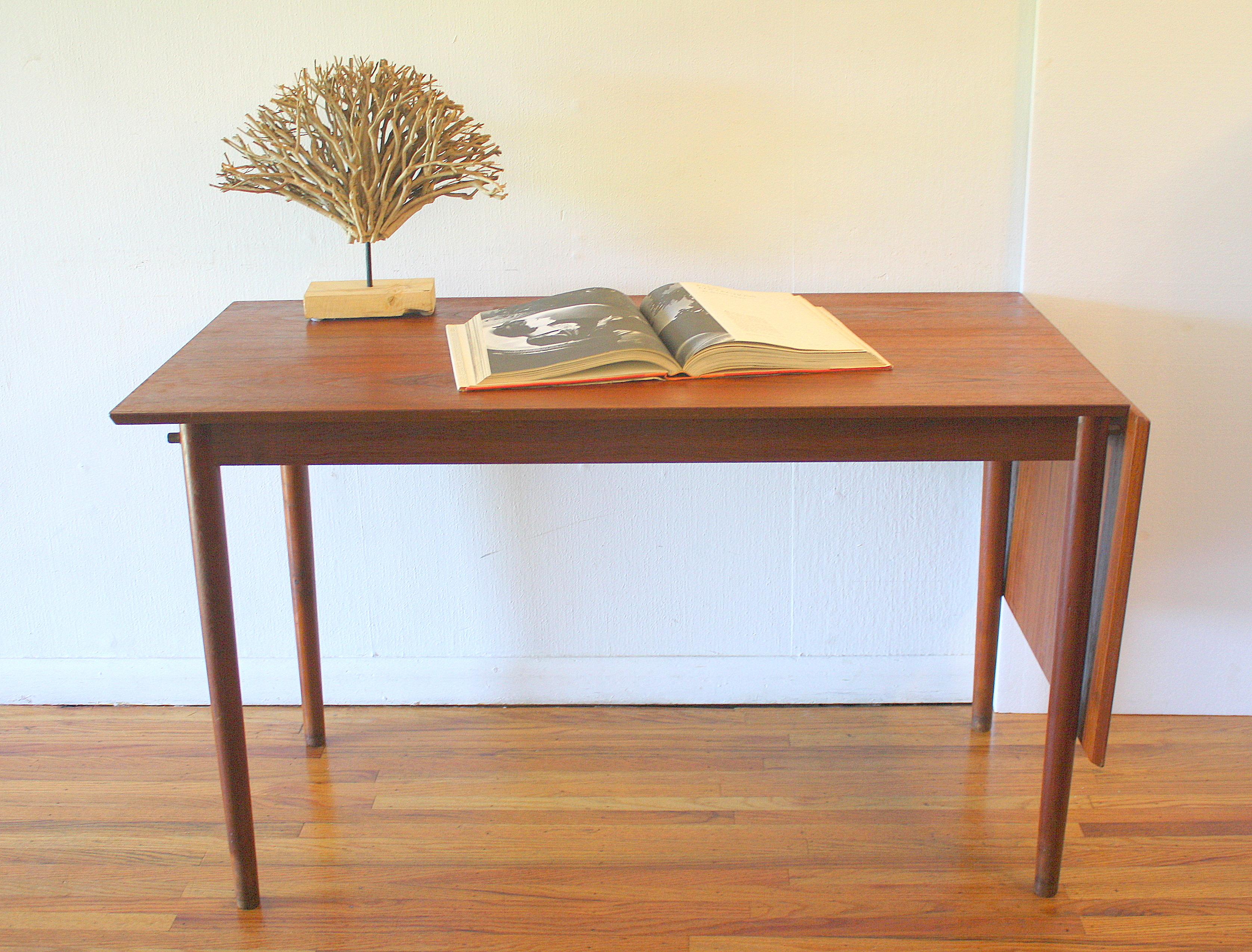 teak extension desk 6.JPG