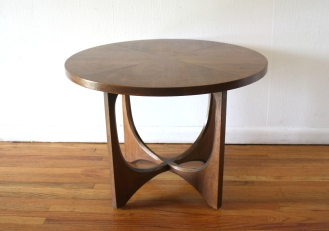 Broyhill Brasilia round side end table 2