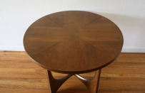 Broyhill Brasilia round side end table 3