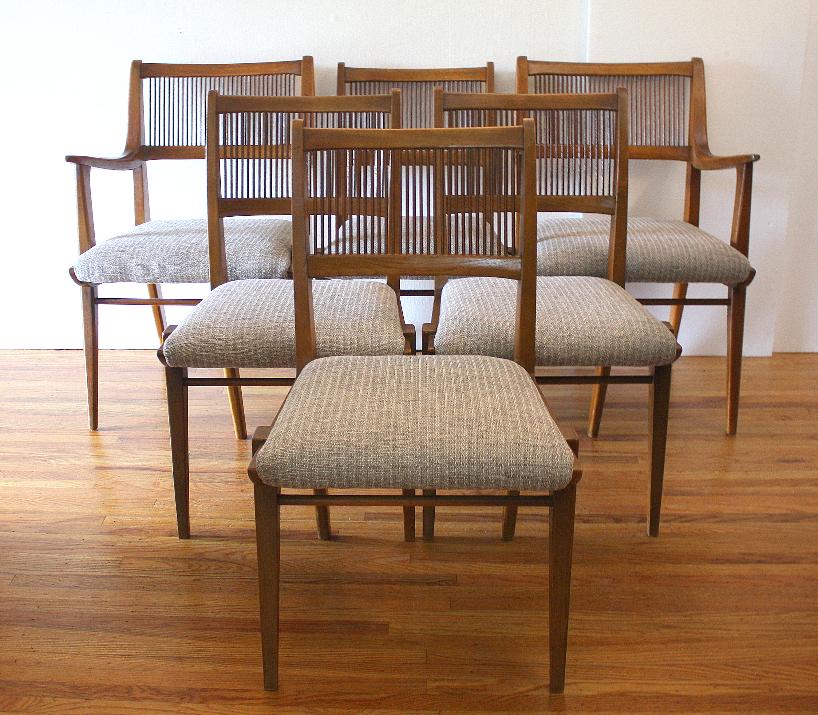 Mid Century Modern Dining Chair Set By Drexel Picked Vintage