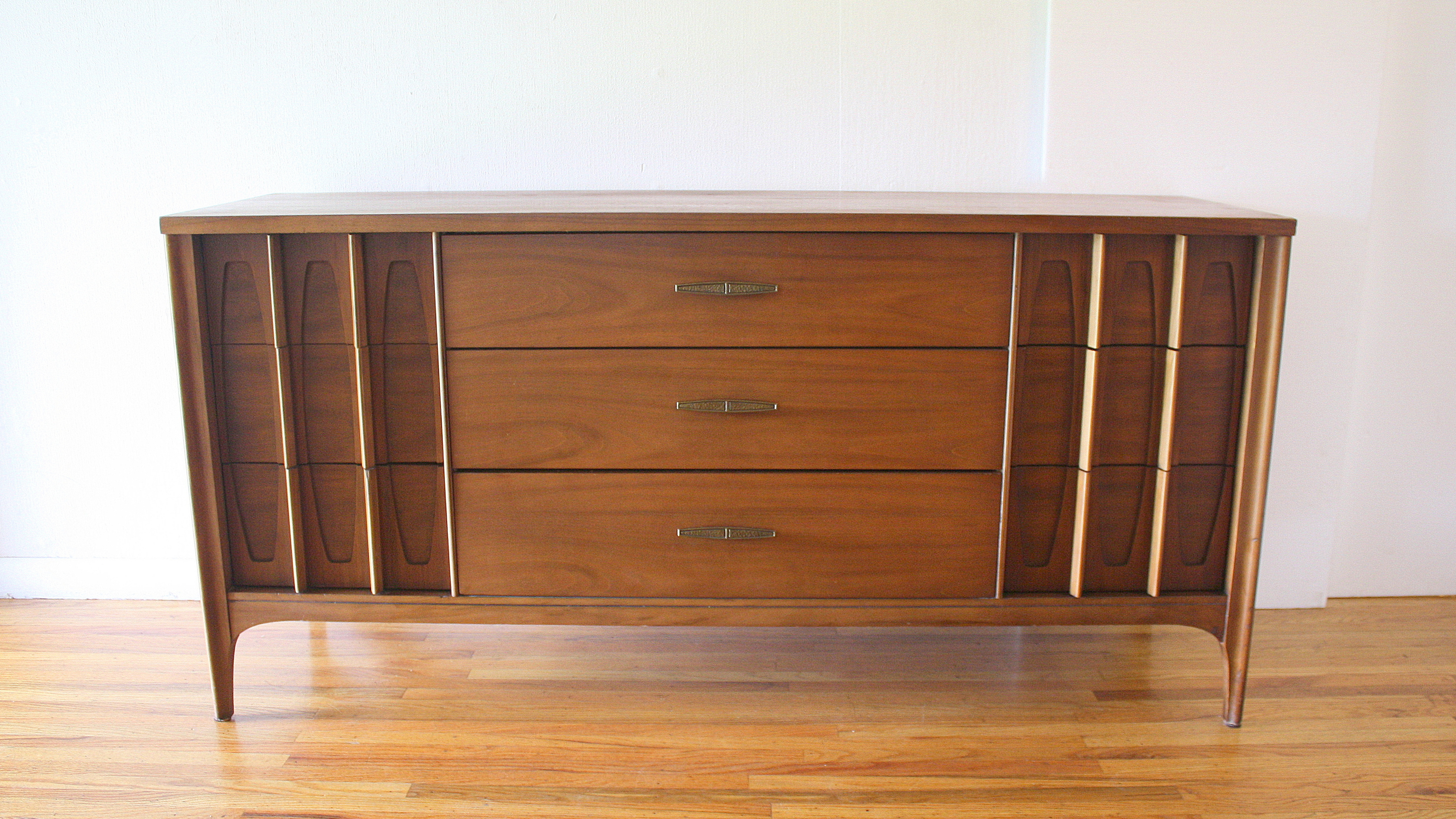 mcm low dresser credenza with sculpted drawers 1.JPG